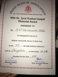 Hearty congratulations:Dr Jyothi Prashad Ganguli Memorial